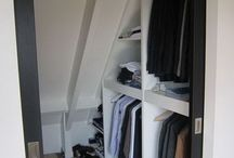Slaapkamer inloopkast plus vloer stijl