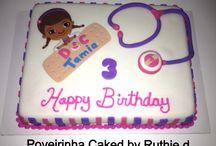 Nagia birthday cake