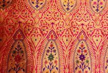 Sarees / Handwoven kadhua weaving.. Buy now from stuti weaves from Varanasi