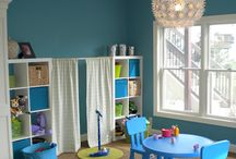 PLAYROOM - GOD DAUGHTER / Ideas for my sister room, god daughter, and cousins :)  #kids #play #room #diy #toys #organize #storage #fun #decor  / by M B