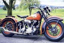 Bikes / Motor bikes and Harley Davidson  / by Kevin Love