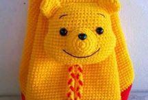rucsac tricotat