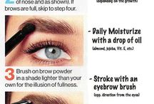 eyebrows ...