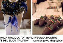 """Arte del bijou italiano / Candonga Fragola Top Quality® si è fatta conoscere e apprezzare anche nella prestigiosa cornice di Palazzo Reale di Milano come sponsor dell'esclusivo vernissage che il 18 febbraio 2016 ha fatto da preludio alla mostra """"L'arte del bijou italiano""""."""
