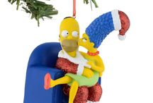 Simpson's / Simpson's Ornaments and Village Decor