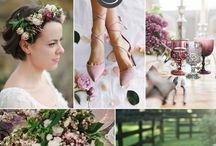 Wedding theme colours