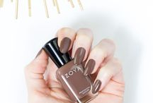 Zoya Gina / Gina by Zoya can be best described as a medium brown neutral cream in the classic 2-coat coverage formula.