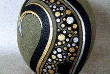 Handpainted stones / by Julie Jones