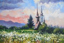 Landscape paintings / Personal work - different landscapes paintings