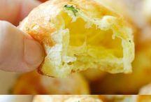 cheese puffy balls