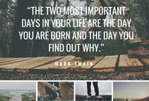 My favourite Quotes / The words that inspire us in our everyday life. The words that can inspire you!