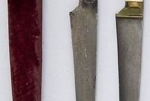 Russian and Persian swords and knives