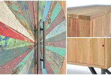 Tendances meubles bois massif 2017 - cocooning