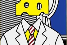 """INSPIRATION - Pop art / """"Pop Art looks out into the world. It doesn't look like a painting of something, it looks like the thing itself."""" ( Roy Lichtenstein )"""