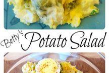 good looking potatoes salad