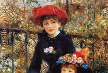Impressionism / impressionism movement paintings and art replicas