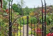 "secret garden building / ""And the secret garden bloomed and bloomed and every morning revealed new miracles."" ― Frances Hodgson Burnett, The Secret Garden  / by Casey Davies Karafonda"