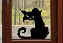 Halloween-i dekorációk