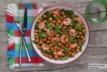 Hortalizas, legumbres y verduras. / Recetas de hortalizas, legumbres y verduras hechas de las más variadas maneras.