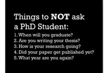 Funny life of PhD student
