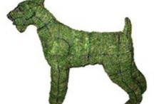 Morph Designs Garden Pets / Love a pet but can't afford the vet bills then our collection of Moss Dogs would suit you down to the ground!  You would be barking mad not to have one :)