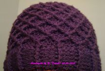 Hats, beanies, hoods etc. / Crochet, Knitting