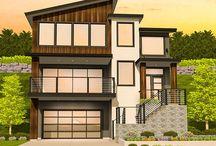Plans modern house