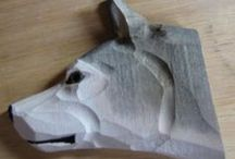 wood simple carving