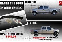 Quick truck mods