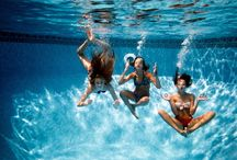 Underwater pool photos