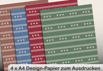 Printable tags, bookmarks and wrapping paper / digital tags, bookmarks and wrapping paper, designed for  Xmas, Christmas, Birthday, present, gift, last minute, diy projects, scrap paper, scrapbooking