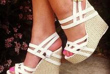 WEDGES / Shoes, wedges, heels, women's fashion / by HOPE DENDINGER