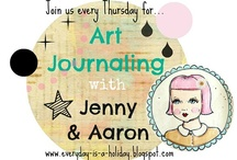 Artsie Heartsie Junk Journals / Write; Draw; Mix; Rip; Tear; and Exploring Mediums,Textures, and Colors