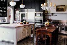 Cool Kitchen Ideas / by Celeste Kenney