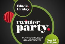 Target Canada #BlackFridayCA #MyKindOfHoliday Twitter Party / Information about the Target Canada #BlackFridayCA #MyKindOfHoliday Twitter Party RSVP here http://blackfridaycatwitterparty.shesconnectedblog.com/