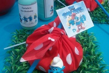 Smurfs party 5 years