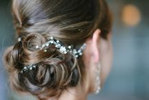 Bride's hair and make-up / ideas for your #bridal  hair, #make-up and brides #beauty tips for an #Italian style #wedding