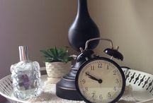 Master bedroom nightstand / Hers nightstand decor