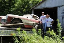 "Barn Find Corvettes / Several years ago, my son and I rescued our first barn find Corvette. Just look at all of these ""treasurers""."