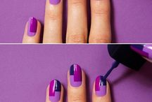 Nail Art / Block pattern