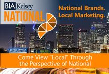 BIA/Kelsey NATIONAL Conference / National brands. Local Marketing. BIA/Kelsey NATIONAL is a unique event that views local media and marketing through the perspective of national brands, agencies, franchises and multi-location businesses. #brands #marketing #franchises #smbs #BIAKelseyLIVE