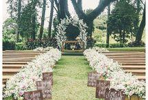 arco frente boda