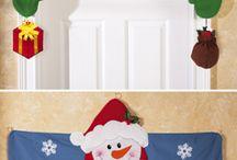 Decorando navideño