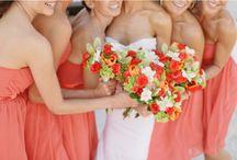 Coral (kinda <3) / My sister's wedding was a fantastic success!! <3 / by Kayla TC