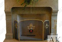 Cast Stone Fireplace Mantels / Get amazingly designed mantels in different styles