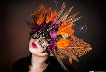 Pruiken en hoeden carnaval