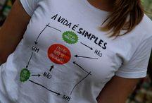 Camisetas artesanais