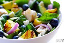Salads :) / by Ashley Klotz