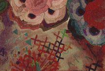 textures, colours