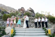 Wedding | Colony 29 Palm Springs / Nestled along the San Jacinto Mountains rests an luxury destination. Set on almost 7 acres, Colony 29 offers six separate homes originally built from 1929 to 1937. You enter through ornate gates and the road meanders up the magnificent hillside to a picturesque setting reminiscent of a hillside European village.  http://www.visitpalmsprings.com/blog/desertspotlight/2014/10/colony-29-a-quiet-retreat-close-to-downtown-palm-springs